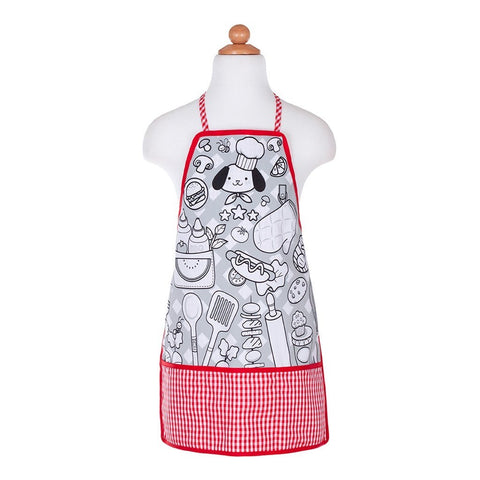 Color-an-Apron Chef (4 Markers)