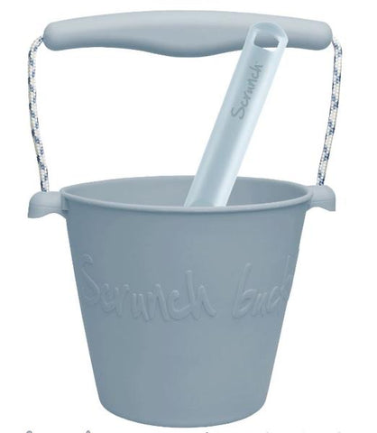Scrunch Bucket and Spade | Duck Egg Blue *Pre-Order