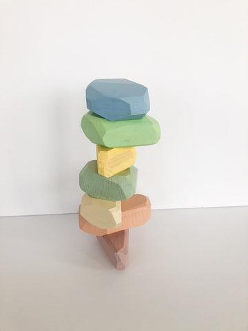 Coloured Stacking Stones - Pastel *Pre-Order