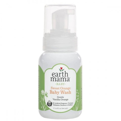 Earth Mama  - Sweet Orange Baby Wash