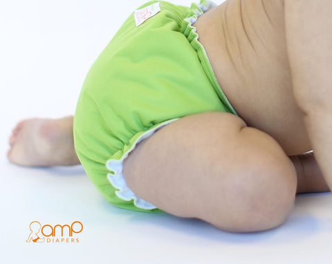 AMP One-Size Duo Diaper - Kiwi * New Color!*
