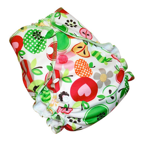 AMP One-Size Duo Diaper - Sweet Apples