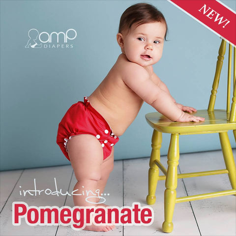 AMP One Size Duo Pocket Cover - Pomegranate