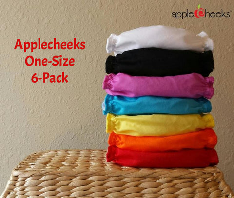 Applecheeks One-Size Starter 6-Pack