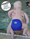 AMP Swim Diaper - Red Fish