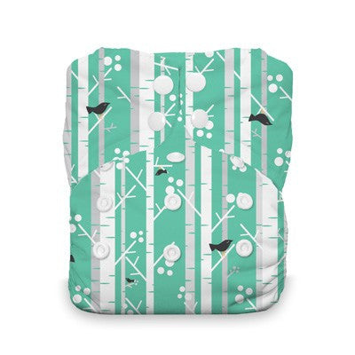 Thirsties One-Size All In One Cloth Diaper - Aspen Grove