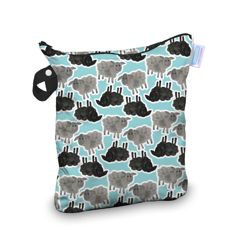 Thirsties Wet Bag - Counting Sheep
