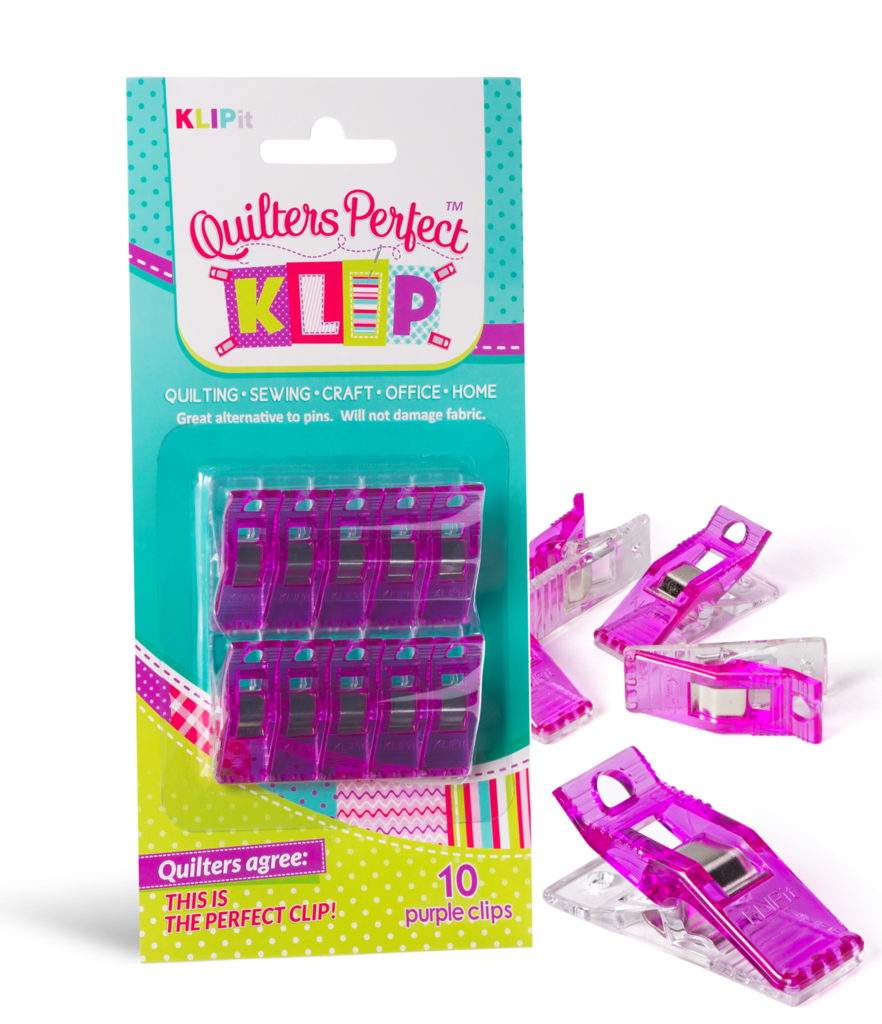 Klipit Perfect Clip 10pcs Purple