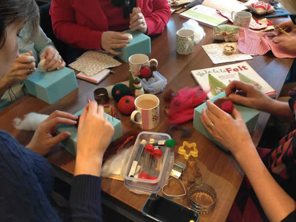 Needle Felted Christmas Decorations with Robyn Smith - Saturday 30th November 2019