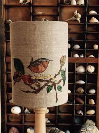 Dear Emma Designs Workshop Textile Art / Embroidered Lampshade Workshop - Saturday 1st February 2020