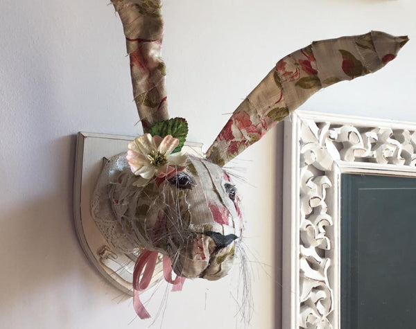 Fabric Animal Heads with Sally Kheng! Saturday 14th October