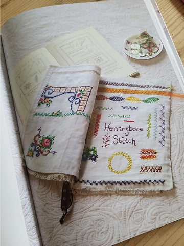Stitch Journal Workshop with Textile Artist Tilly Rose - Saturday 9th May 2020