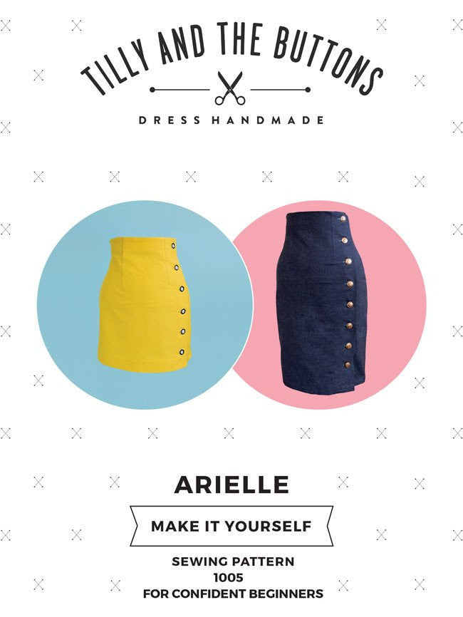 ARIELLE - Tilly and the Buttons Dressmaking Pattern
