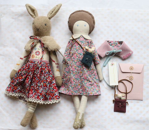 An Introduction To Doll Making with Katy Livings - Saturday 3rd November or Sunday 4th November 2018