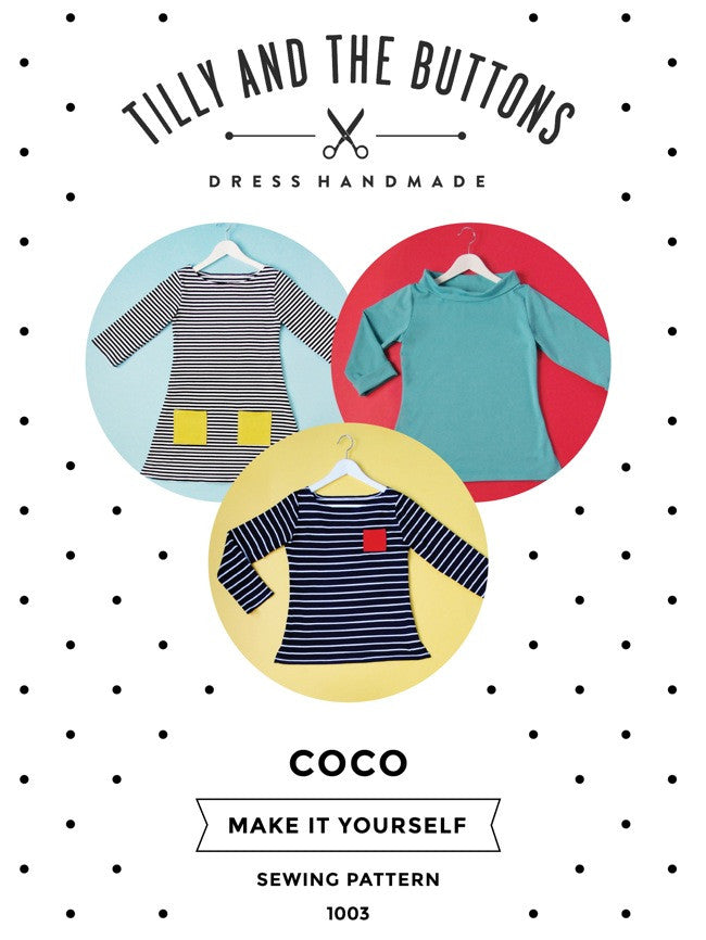 COCO - Tilly and The Buttons Sewing Pattern