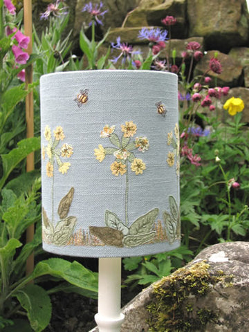 Dear Emma Designs Workshop Textile Art / Embroidered Lampshade Workshop - Saturday 9th February 2019