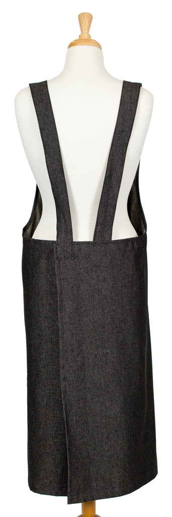 Classic Denim Cross-Over Pinafore Apron