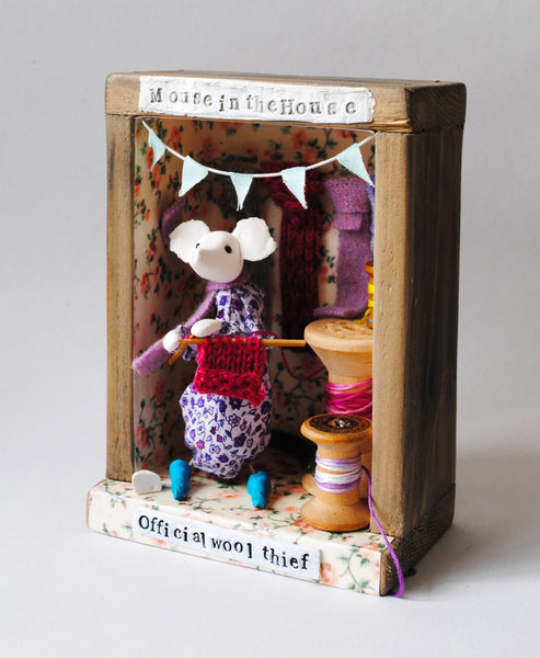 Mixed Media Mouse Workshop with Kathryn Ashcroft Saturday 21st March 2020