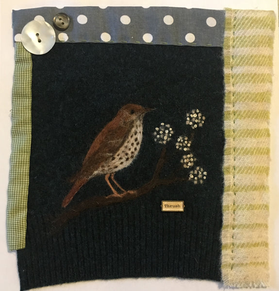 Needle Felted Pictures with Robyn Smith Felt Artist Saturday 12th October 2019