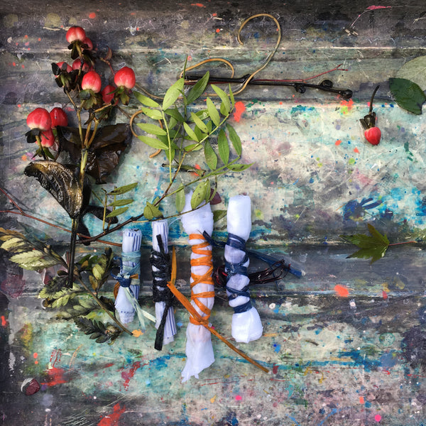 Indigo Dye with Eco Print and Rust with  Maria Thomas Textile Artist - Saturday 8th June 2019