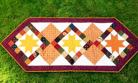 Patchwork Stars Table Runner with Stuart Hillard Saturday 23rd November 2019