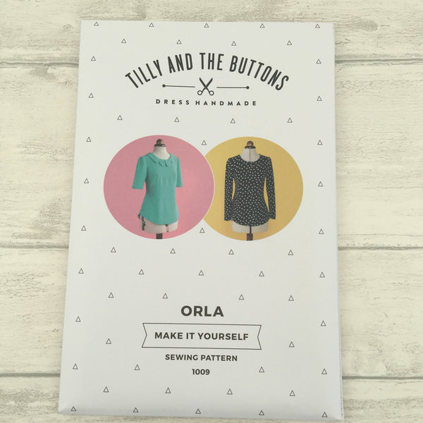 ORLA - Tilly and the Buttons Dressmaking Pattern