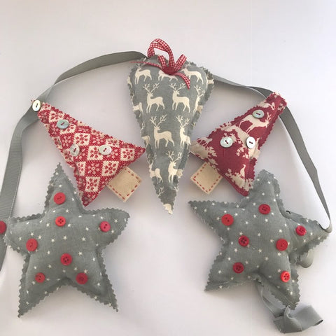 Sew Your Own Christmas Garland Sunday 18th November 2018 1 - 2.15pm