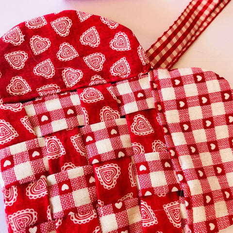 Sew Your own Danish Heart Sunday 18th November 2018 11.15 - 12.15pm