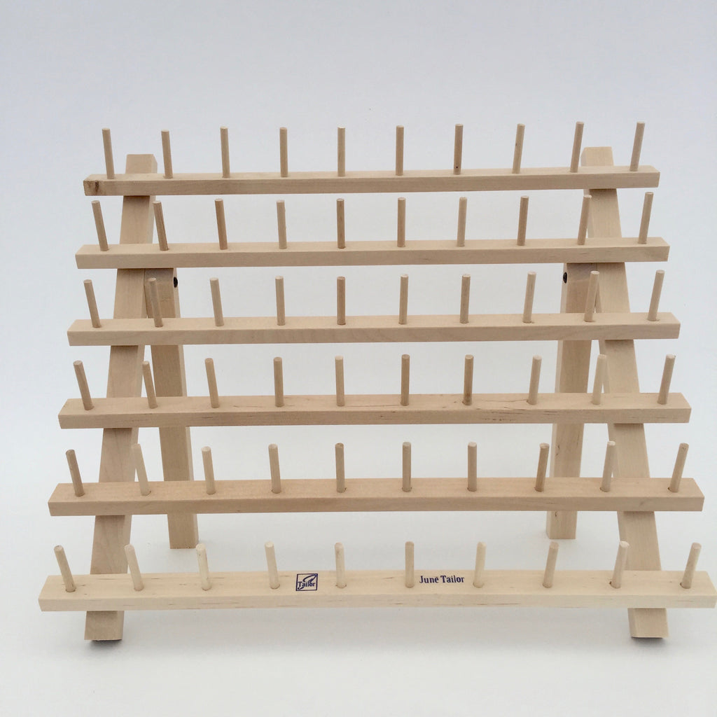 Wooden Thread Spool Rack (Holds 60 spools)