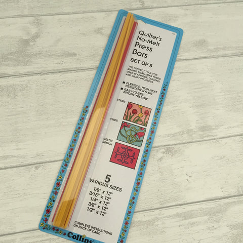 Quilters Bias Press Bars - Set of Five