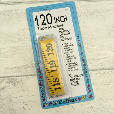 Extra Long Tape Measure (300cm / 120 inch)