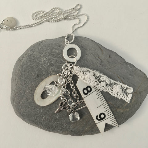 Stitchers Haberdashery Charm Necklace