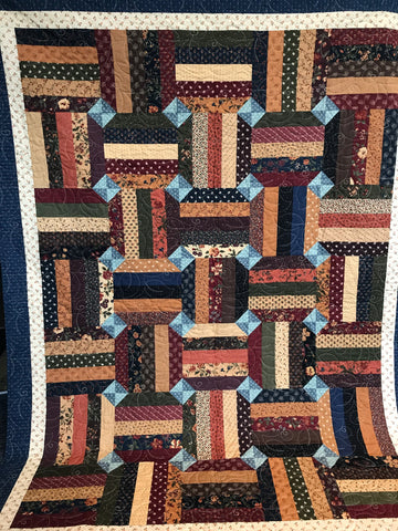 Strips and Snowballs Quilt with Stuart Hillard Saturday 6th July 2019