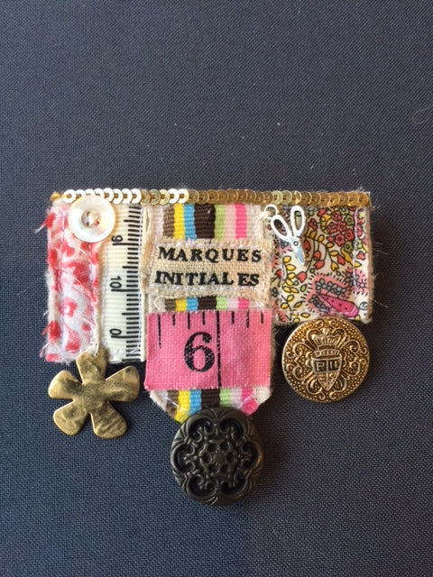 Sewer's Medal Jacket Brooch
