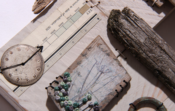 Patchwood Samplers - Natural Collections with Ali Ferguson Saturday 6th June 2020