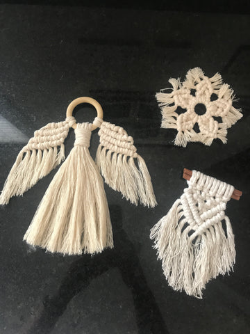 Christmas Macrame Workshop with Sarah Winspear REN Living Saturday 14th November 2020