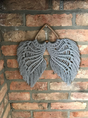 Macrame Angel Wings Workshop with Sarah Winspear REN Living Saturday 11th July 2020