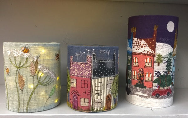 Create Your Own Lantern with Cut Out Windows or Textile Art Picture with Dear Emma Designs - Sunday 2nd February 2020