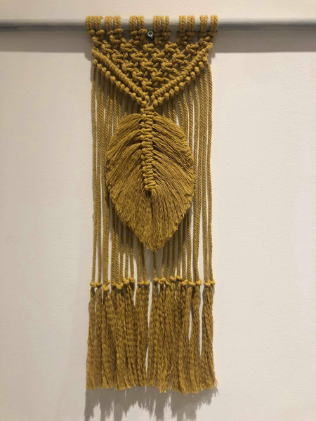 An Introduction to Macrame with Sarah Winspear Saturday 22nd June 2019