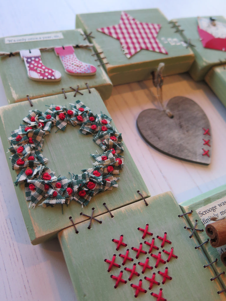 Patchwood Christmas Wreaths with Ali Ferguson Sunday 8th December 2019