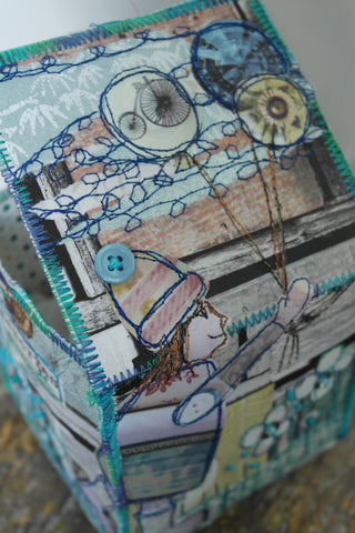 Collage Boxes with Anne Brooke Textile Artist - Sunday 14th October 2018