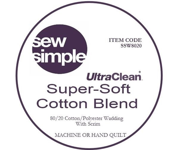 Super-Soft Quilters Wadding 80/20