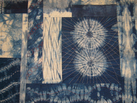 Shibori Dyeing with Indigo Two Day Workshop with Janice Gunner - Saturday 19th & Sunday 20th June 2021