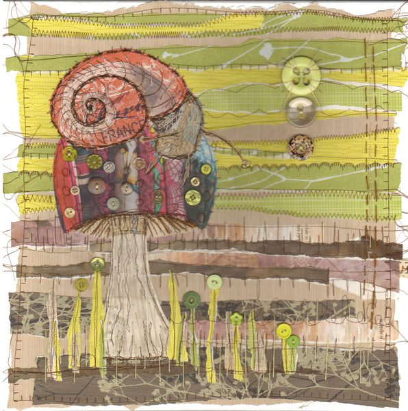 Stitched Collage with Anne Brooke Textile Artist - Saturday 21st November 2020