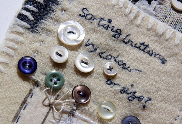 Stitching Stories Scrappy Textile Collage with Ali Ferguson - Sunday 19th November
