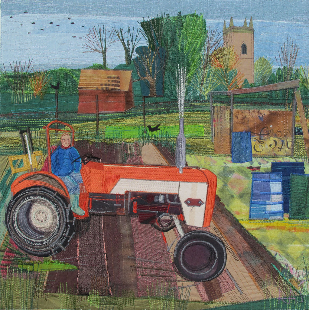 Nature on The Farm Collage and Applique Picture Workshop with Rachel Sumner - Saturday 10th October 2020