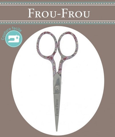 Frou Frou Floral Embroidery Scissors 10.5cm