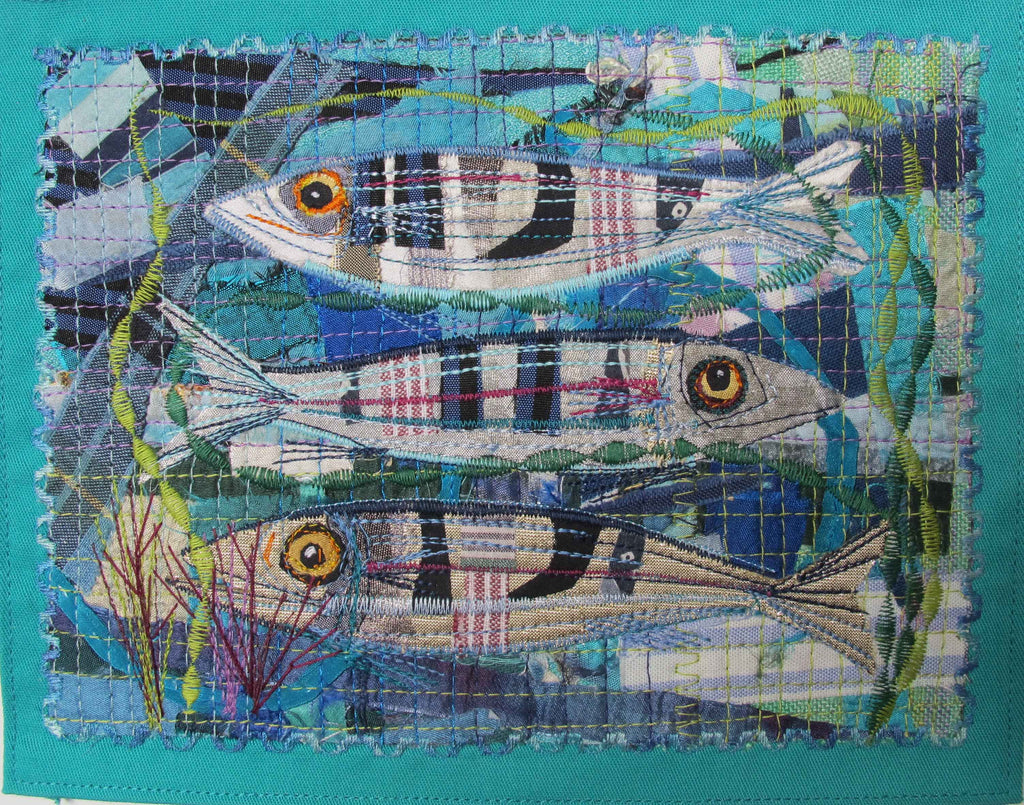 Sealife Collage and Applique Picture Workshop with Rachel Sumner - Sunday 19th May 2019