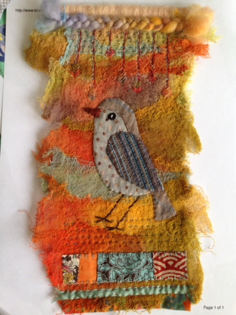 Imaginary Bird Panel Workshop with Annette Emms Sunday 12th May 2019