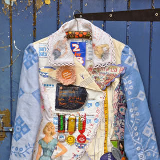 Half Scale Paper & Fabric Jacket with Maria Thomas Textile Artist - Sunday 14th May
